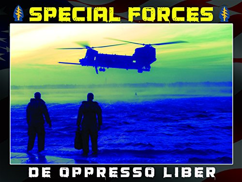 Special Forces Poster Special Ops Army Delta Force Green