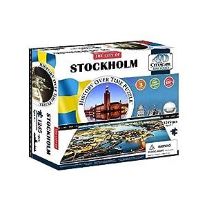 4dcityscape Stockholm Puzzle