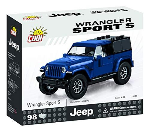 COBI Jeep Wrangler Sport S (Jeep Wrangler Model Kit)