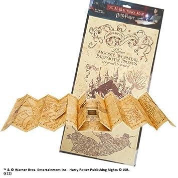 Karte Des Rumtreibers Pdf.Noble Collection Harry Potter Karte Des Rumtreibers