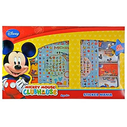 WeGlow International Disney's Mickey Mouse Clubhouse Sticker Mania
