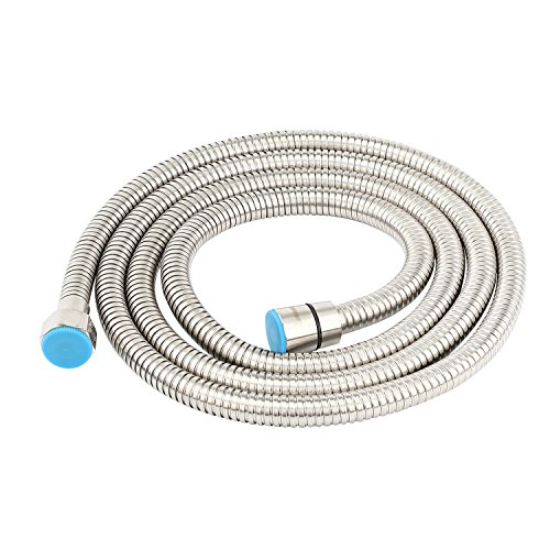 Lansan 304 Stainless Steel Handheld Shower Hose Replacement 78 Inches (2 Meters) by Lansan