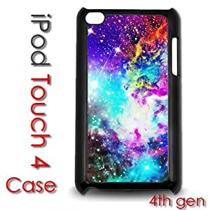 IPod Touch 4 4th gen Touch Plastic Case - Galaxy Stars Hipster Nebula