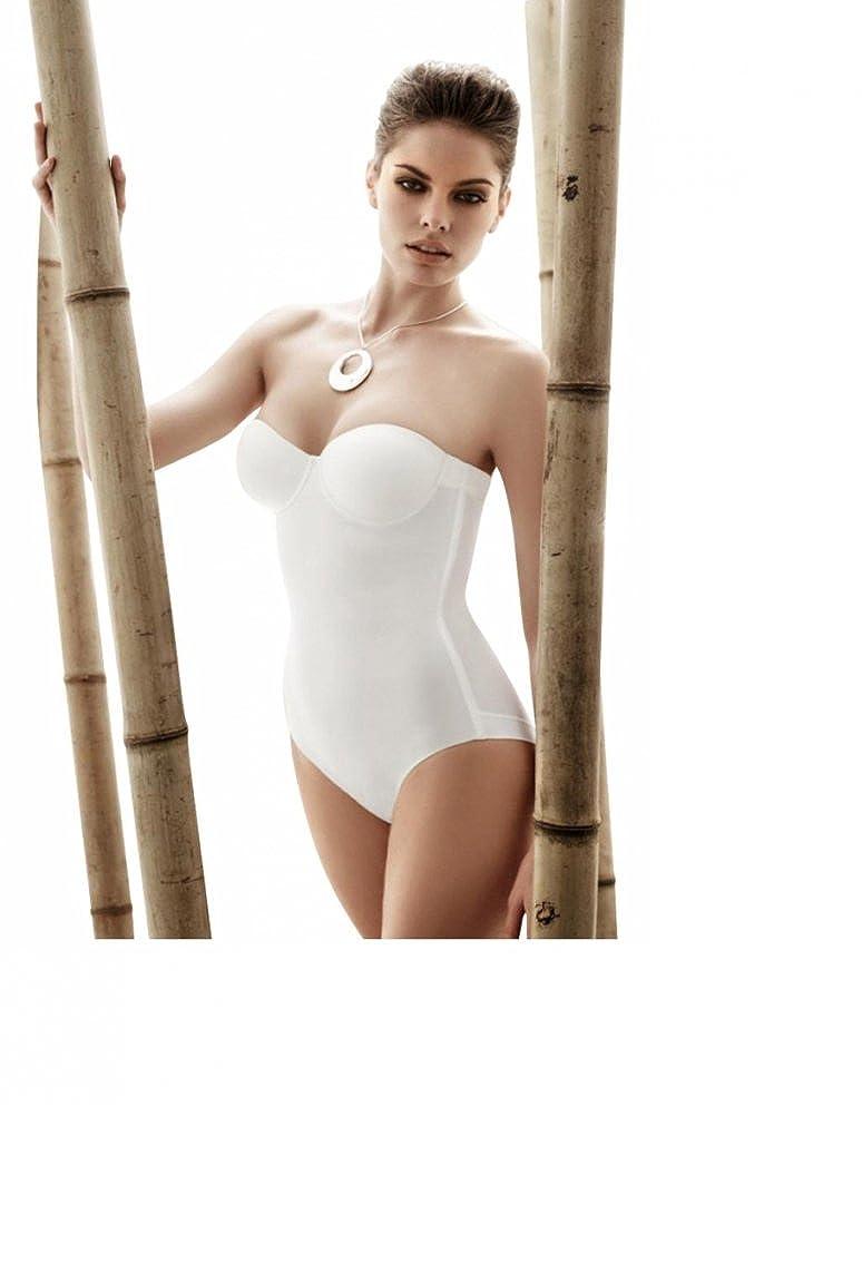 Body blanc uni sans bretelles pour femme - Peau - 85B  Amazon.fr  Vêtements  et accessoires d67cc5011c6
