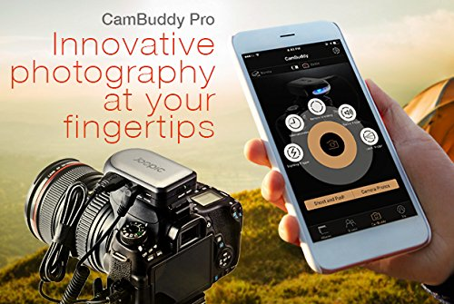 Cambuddy Pro (Silver):Do-It-All DSLR Smart Controller- Wireless Capture and Transmit; Sound, Lightning and Laser Trigger enable High-Speed Photography; HDR, Focus Stacking, Bulb Mode and Long Exposure by Joopic