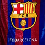 "FCB Barcelona Luxury Plush Throw Blanket 50""x60"""
