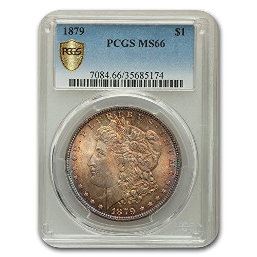 1879 Morgan Dollar MS-66 PCGS $1 MS-66 PCGS