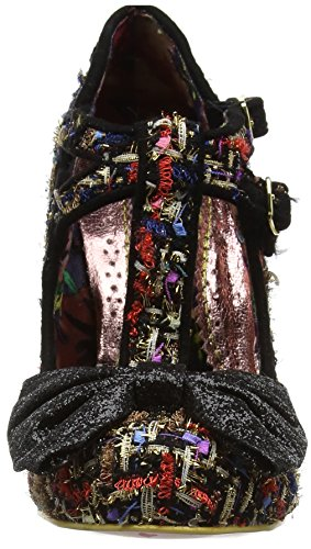 Irregular Sundae black Cerrada Choice Mujer Punta Tacón Zapatos Con A De Negro Sprinkles rrU4BP