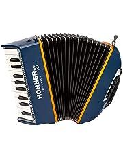 Hohner XS akordeon dziecięcy niebiesko-pomarańczowy