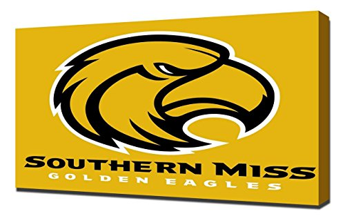(Lilarama USA Southern Mississippi Golden Eagles 3 - Canvas Art Print - Wall Art - Canvas Wrap)