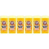 Arm & Hammer Ultramax Antiperspirant & Deodorant - Powder Fresh- 2.6 oz/73g (pack of 6)
