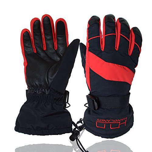 Water Resistant Mountain Bike Gloves Touchscreen Grip Sport Outdoor Riding Gloves HANDLANDY Cycling Gloves for Men /& Women