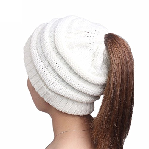 Clearance! iYBUIA Women Ladies Knitting Cancer Hat Beanie