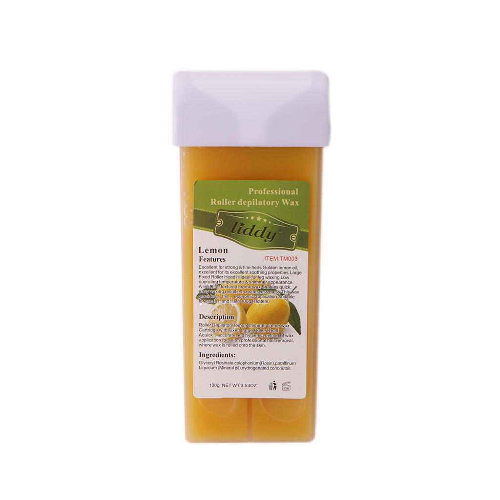 Gjyia Styles 100 G Sobre el Calentador de Cartucho de Cera épilatoire a Caliente depilación a la Cera, Naranja, 140mm x 50mm x 20mm: Amazon.es: Hogar