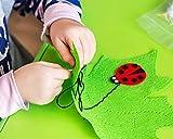Penta Angel Plastic Sewing Needles 40Pcs 3.5 Inch