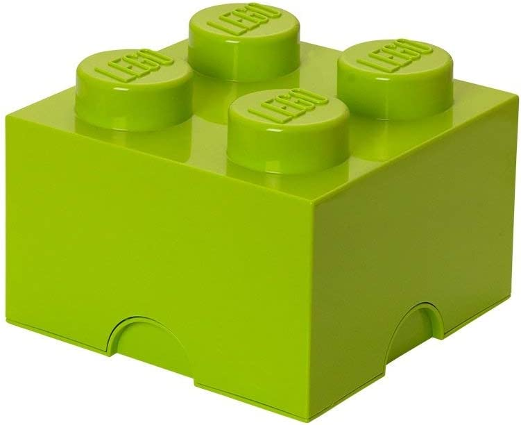 LEGO Storage Brick 4, Lime Green