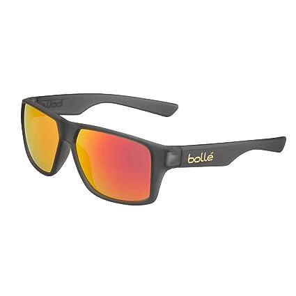 Amazon.com: Bolle Brecken - Gafas de sol de cristal gris ...