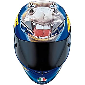 AGV K3 The Donkey Full Face Motorcycle Helmet (Multicolor, Medium)