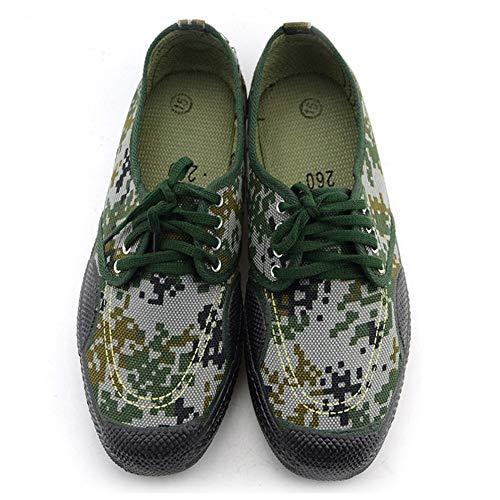 Rcnryoutdoor scarpe sportive, Woodland camouflage basso indossare scarpe, Labor protezione sito sudore antiscivolo scarpe, scarpe, a,44