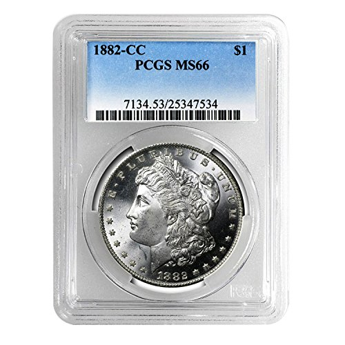 1882 CC Morgan Dollar $1 MS-66 PCGS