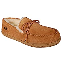 Ricardo B.H. Men's Moccasin Sheepskin Slipper - Tonto