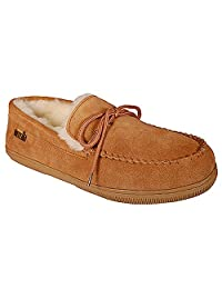Ricardo B.H. Men's Moccasin Sheepskin Slipper - Tonto- Size 10