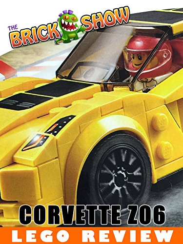 LEGO Speed Champions Chevrolet Corvette Z06 Review (75870)