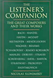 The Listener's Companion, Nicolas Slonimsky and Electra Yourke, 0825672783
