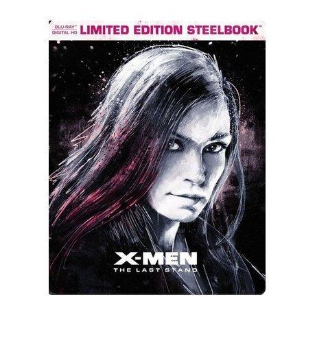 X-Men: The Last Stand Limited Edition Steelbook (Blu Ray + Digital HD)