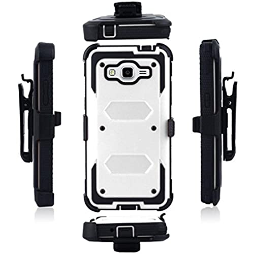 Galaxy S7 Case,Fusicase Heavy Duty Shockproof Durable Full Body Protection Rigged Hybrid Armor Case with belt clip Case for Samsung Galaxy S7 Sales