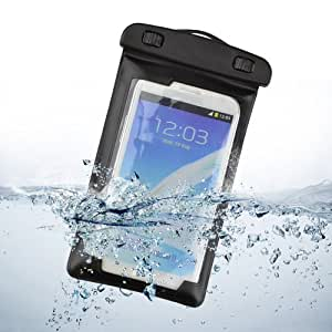 LYYF Waterproof Case,Universal Waterproof Phone Holder Case Pouch with Lanyard for Iphone 4/4s/5/5s/6, Ipod Itouch5,samsung Galaxy S3, S4,S5 Etc (Black)