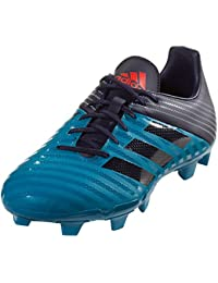 Malice FG Rugby Boots, Blue. adidas