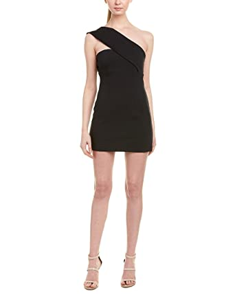 3510a67d4388 Amazon.com  Finders Keepers Womens One-Shoulder Sheath Dress