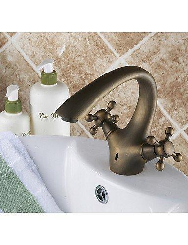 jinrou Luxury Home grifos latón Brand Nuevo Antiguo cuarto de baño ...