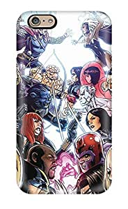Hot BUgjrsd1184GuNhE Case Cover Protector For Iphone 6- X-men Vs. Dc Heroes(3D PC Soft Case)