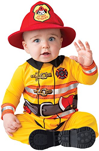 Baby Firefighter Costume (Fearless Firefighter Infant Costume)