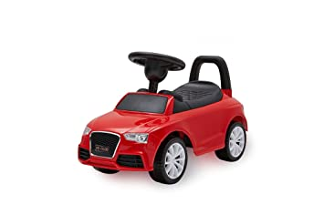 kids ride on push along sliding toy sports racing car vehicle audi style great gift