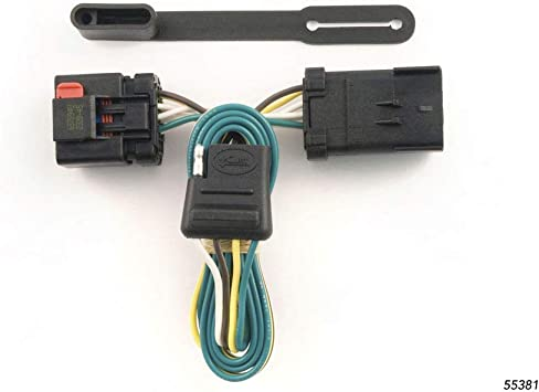 CURT 55381 Vehicle-Side Custom 4-Pin Trailer Wiring Harness for Select on jeep navigation system, jeep bed liner, jeep roof rack, jeep air conditioning, engine wiring, jeep armrest, jeep bucket seats, jeep trailer lights, jeep trailer harness, jeep trailer hitch, jeep floor mats, jeep brakes, jeep trailer connector, jeep trailer design, jeep alloy wheels, jeep trailer receiver, jeep towing, ford wiring, jeep trailer interior, jeep gauges,
