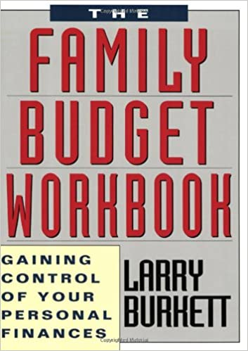 the family budget workbook gaining control of your personal