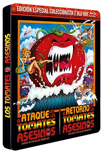 Attack of the Killer Tomatoes! - El ataque de los Tomates Asesinos + Return of the Killer Tomatoes! - El retorno de los tomates asesinos (Non USA Format)