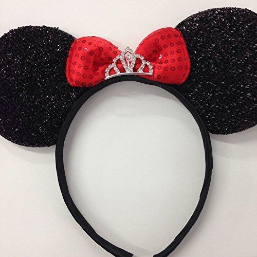 Minnie mouse princess ears headband/Disney princess ears - Princess Minnie Mouse Costume