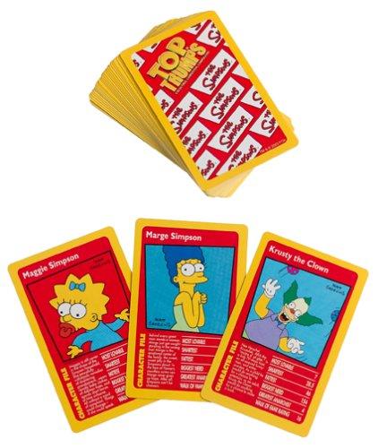Hasbro The Simpsons Top Trumps Card Game | Educational Ca...