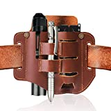 IKEPOD EDC Full Grain Leather Sheath for
