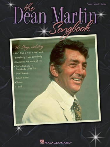 Dean Martin Songbook (Piano/Vocal/Guitar Artist Songbook)
