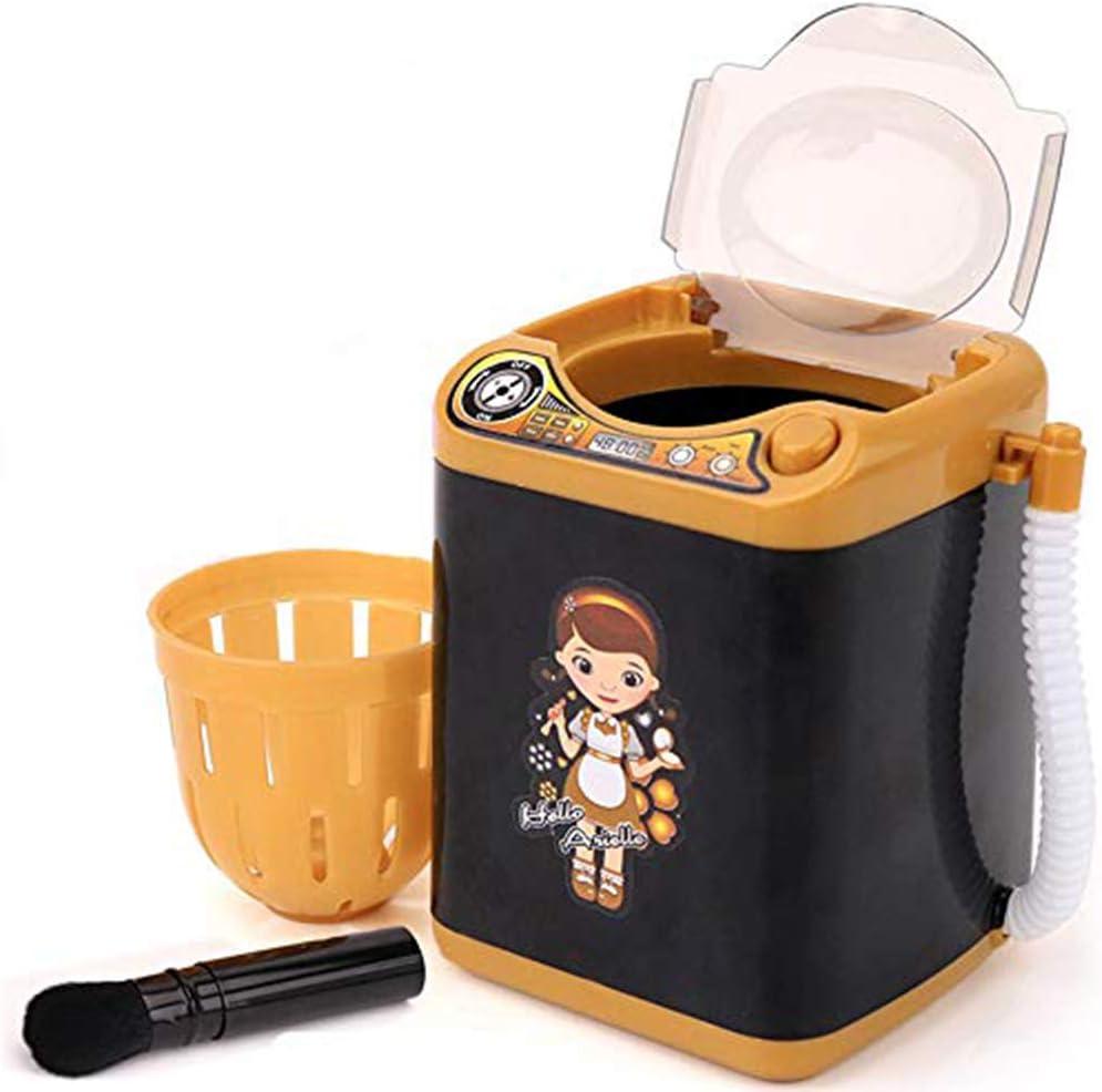Limpiador de brochas de maquillaje y secadora, lavadora electrónica, lavadora automática y secadora, esponja de maquillaje