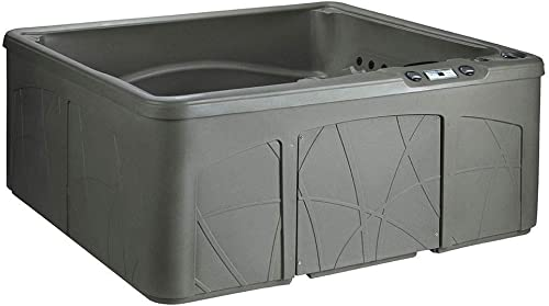 LifeSmart LS350DX 5 Person Outdoor Patio Hot Tub Spa w/ 28 Jets Cover