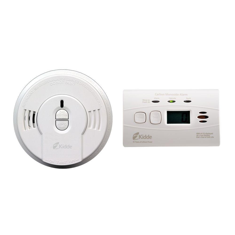 Kidde 21026087 Combo Pack of 10 Year Longlife Smoke and Carbon Monoxide Detector (2 Piece Set) - - Amazon.com