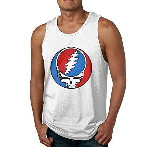 The Grateful Dead Vintage Adult Skull Tank Top Shirt For Men