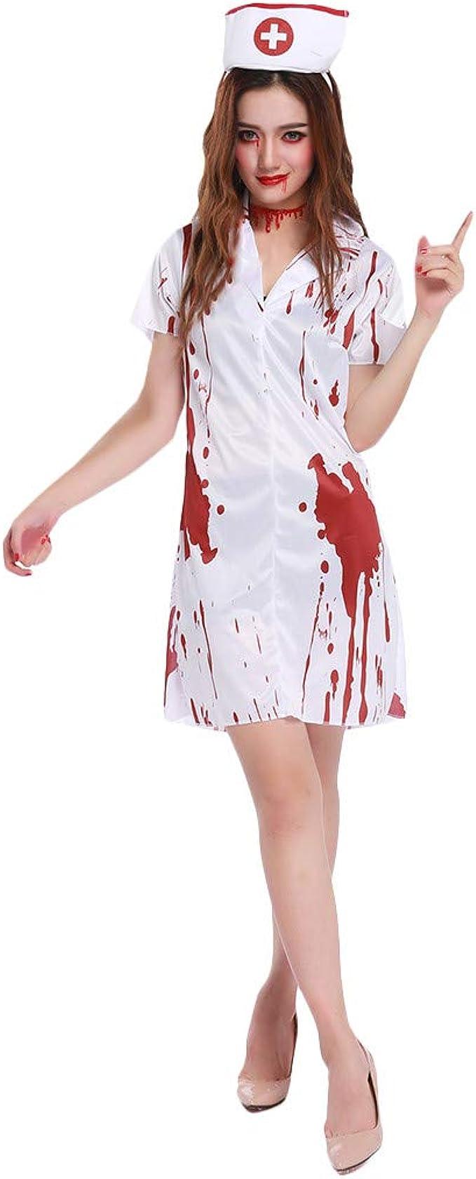 Vestidos de Enfermera Cosplay Ghost Vestido de Enfermera para ...