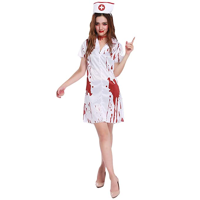 CLOOM Cosplay Disfraces Halloween Mujer Sexy Novia Mini ...